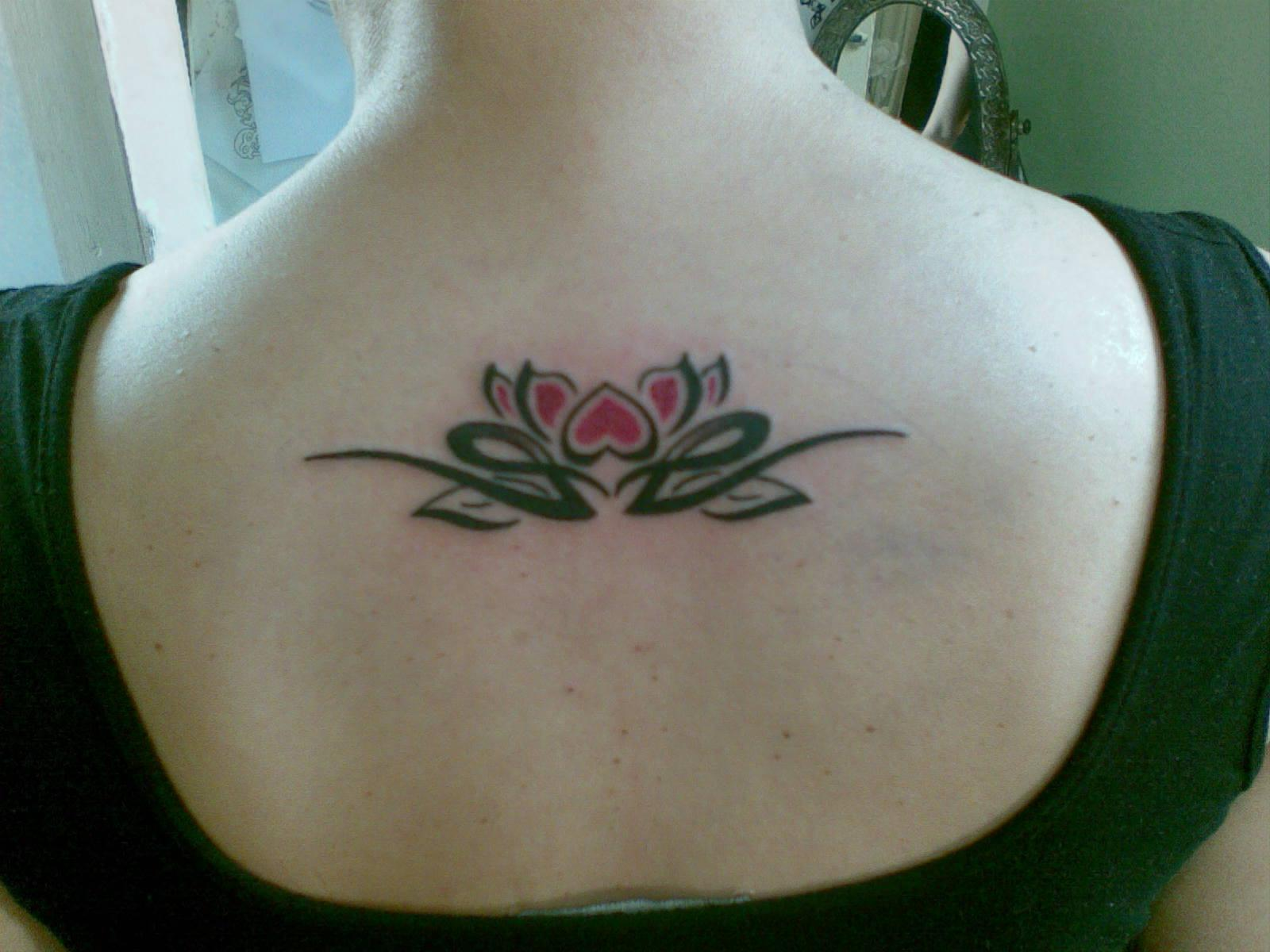 Girls Lotus Flower Tattoo