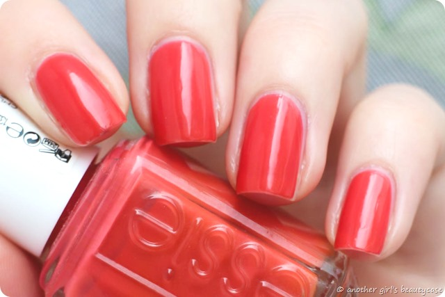 LFB Orange Essie Chubby Cheeks Swatch-4
