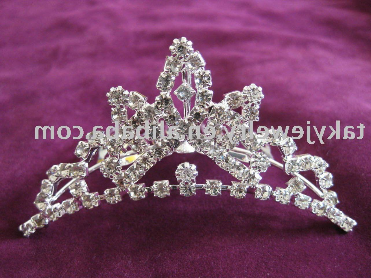 See larger image: princess tiara,party tiara,wedding tiara