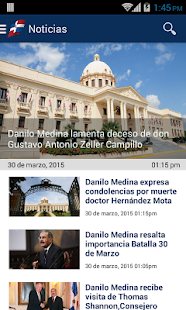 Presidencia RD - screenshot