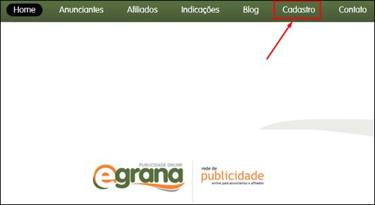 Ganhe dinheiro com o eGrana–Afiliados - Visual Dicas