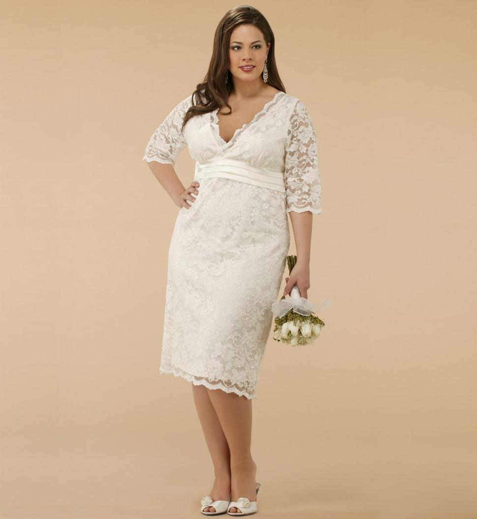 Plus Size Winter Wedding Dresses 79