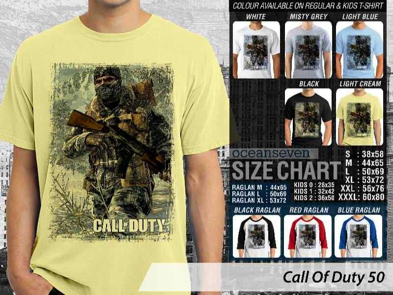KAOS cod Call Of Duty 50 Game Series distro ocean seven