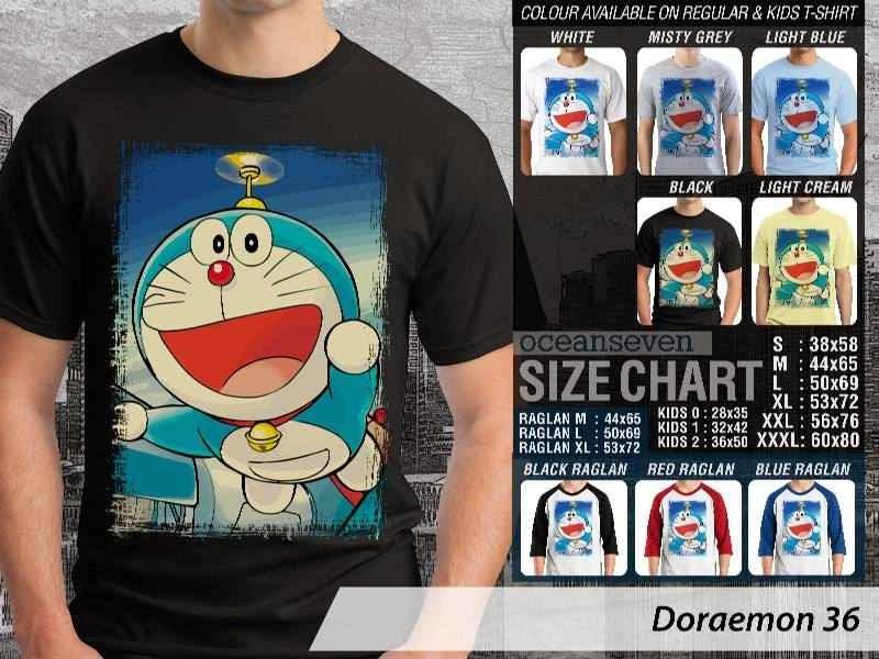 KAOS Doraemon 36 Manga Lucu distro ocean seven