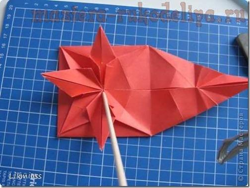 flor de pascua origami (26)