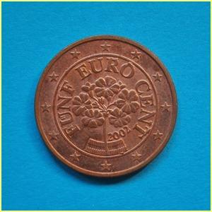 Austria 5 céntimos Euro