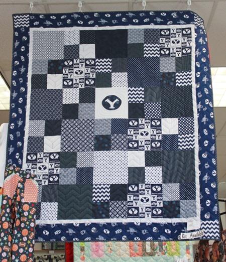 BYU quilt