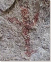 antropomorfo del Barranc de les Coves - Alcoi