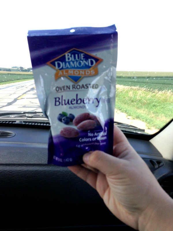Blue Diamond Blueberry Almonds