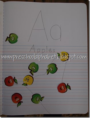 Preschool Alphabet: A is for Apples