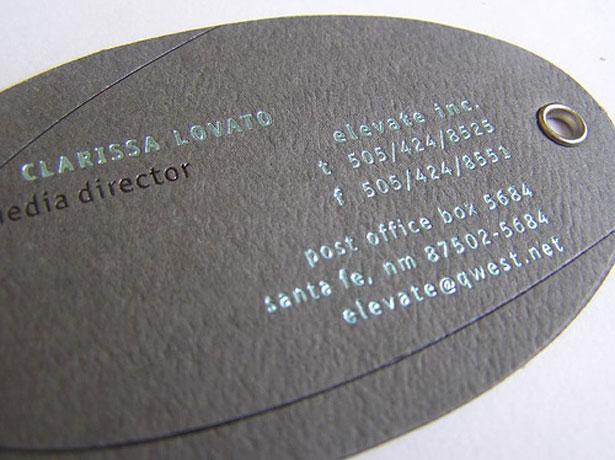 Cartão de visita Elevate Inc.
