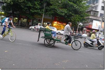 Chao Zhou trishaw 潮州三輪車