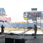 CMA Fest stage in the LP during soundcheck