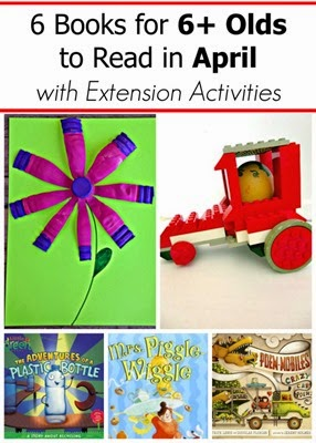 April Books and Extension Activities for Kids Age 6 and Up