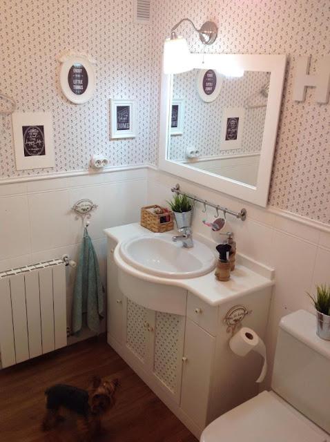 Decorar Un Baño Sin Obras:Éste era mi baño antes de la reforma Low Cost: