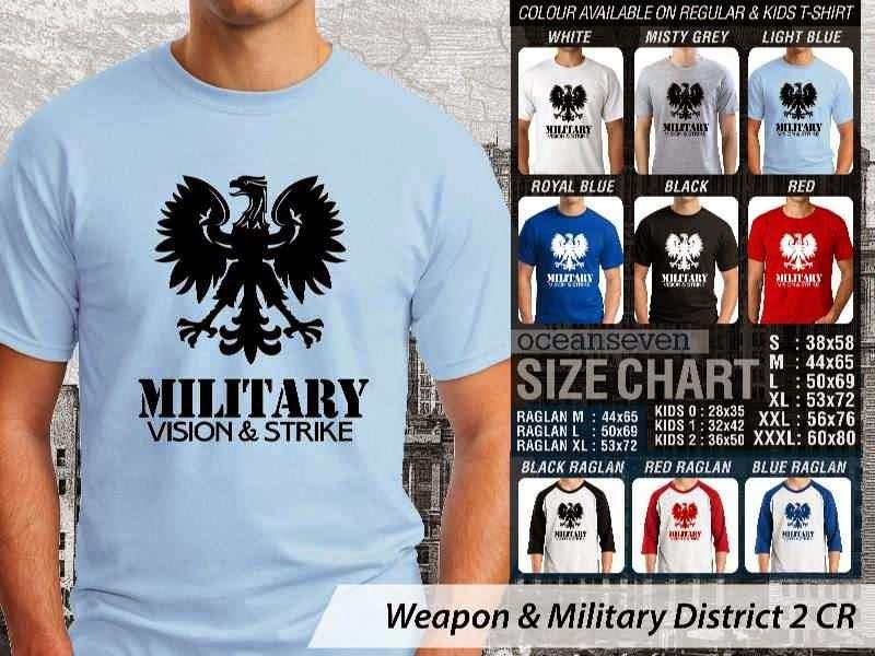 KAOS Militer Weapon & Military District 2 distro ocean seven