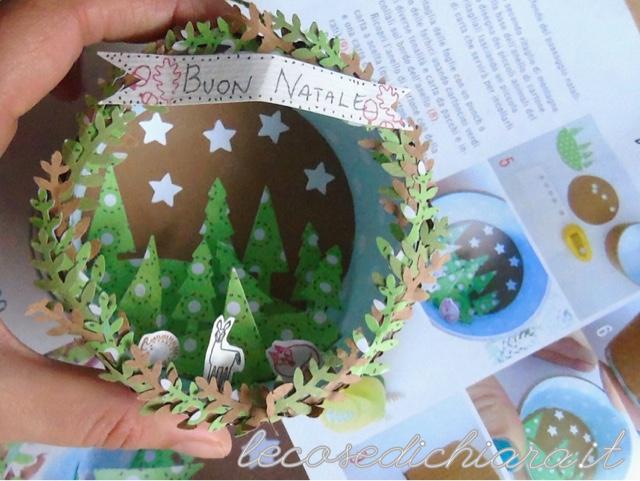 Crea Il Tuo Natale: PAESAGGIO NATALIZIO   Lecosedichiara In Edicola