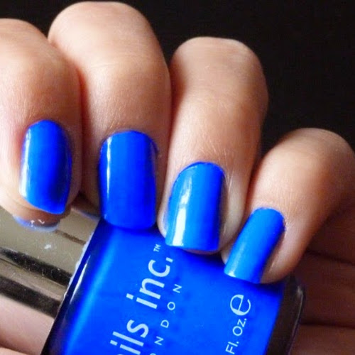Blue Nails images, pictures