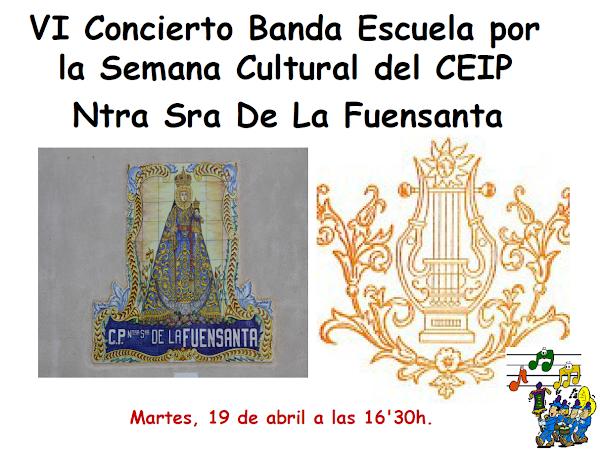 Cartel Concierto Cultural