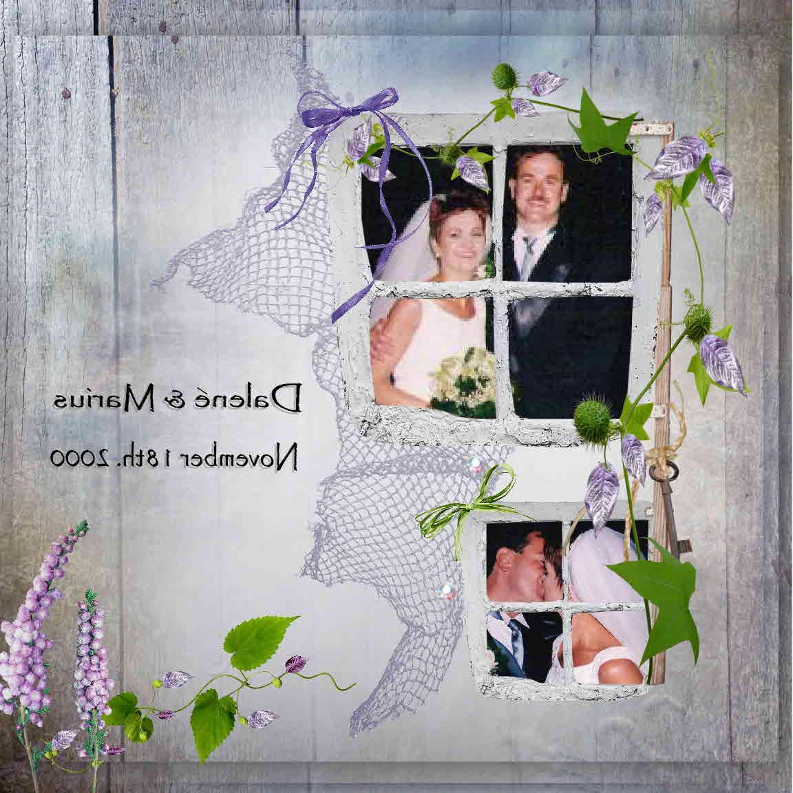Wedding...   Digital Scrapbooking at Scrapbook Flair