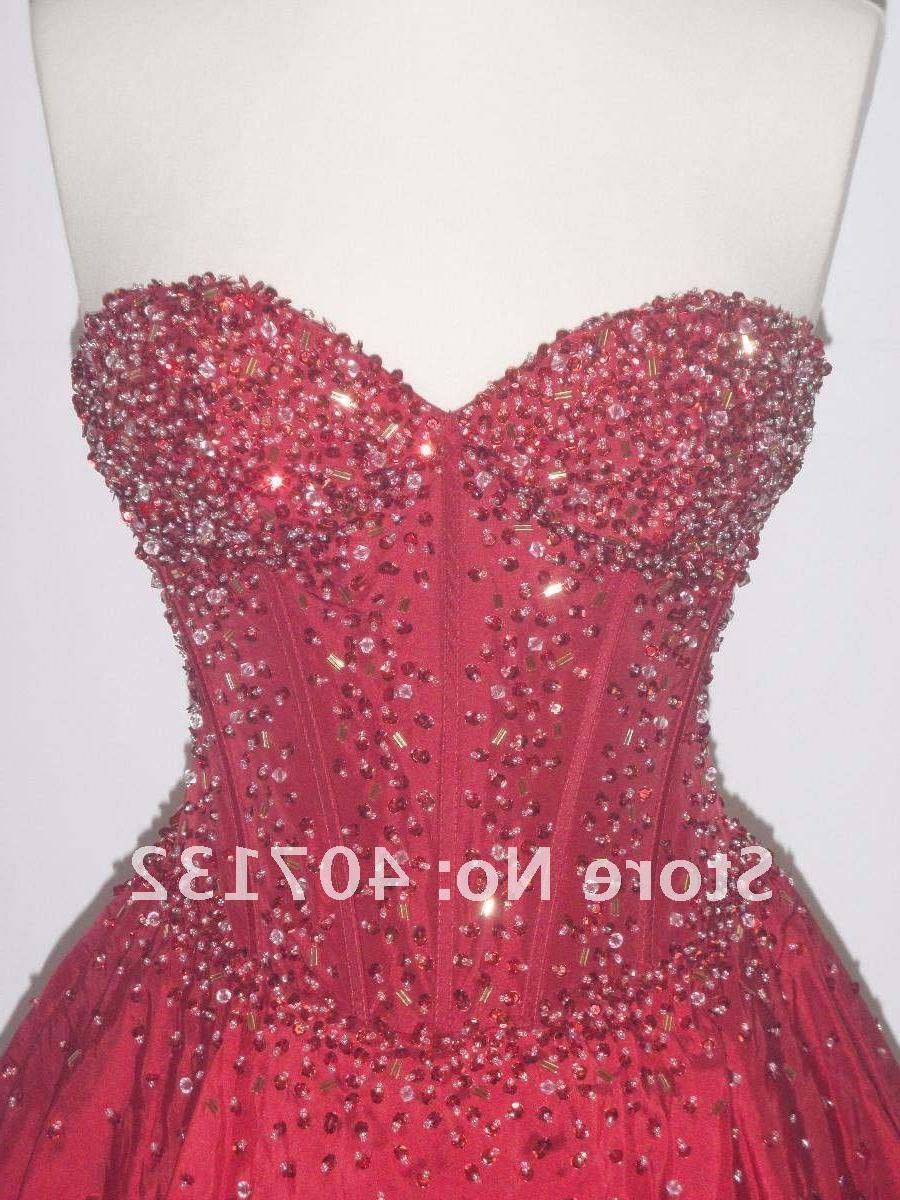 Artful Sweetheart Ball Gown
