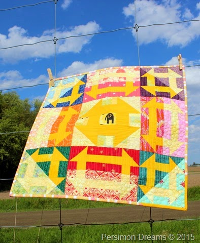 Elephant in the Middle Quilt