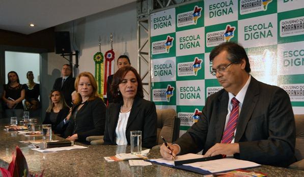 Foto1_KarlosGeromy - Governador Flávio Dino lança o 'Escola Digna'