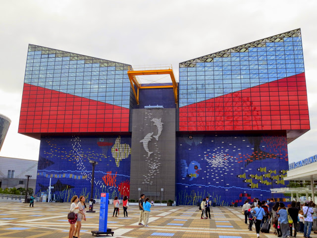 The Osaka aquarium