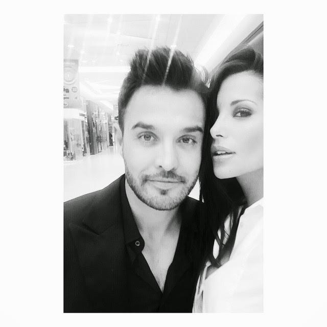Leeann Liebenberg shares selfie with her handsome husband.