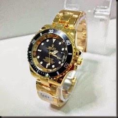 Rolex 6012 Ladies Gold Black