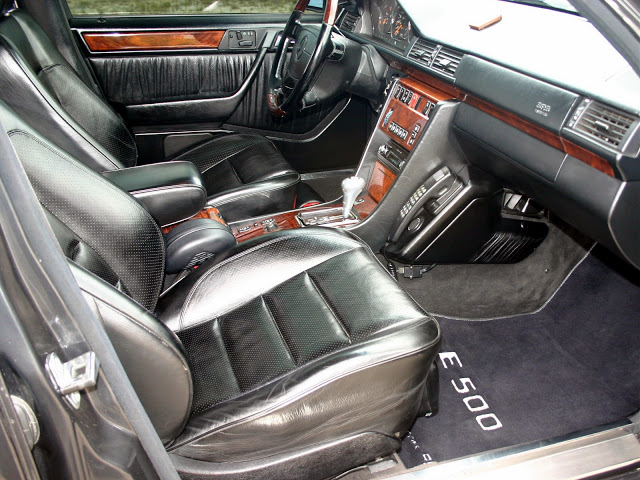 mercedes w124 e500 interior
