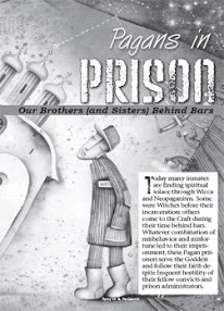 Cover of Kenaz Filan's Book Pagans In Prison Our Brothers And Sisters Behind Bars