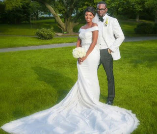 Osas Ighodaro (actress) and Gbenro Ajibade (actor)