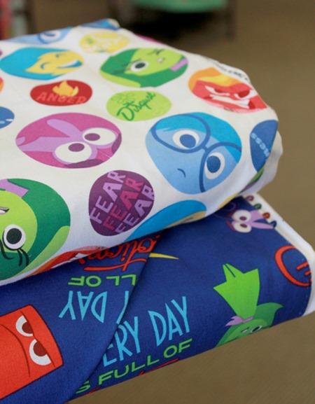 Inside Out fabrics