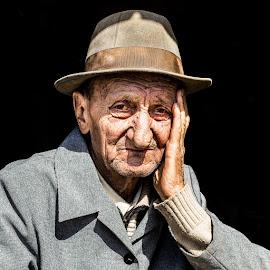 Sadness. April 2015 by Marius Cinteza - People Portraits of Men