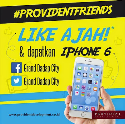 Kuis Grand Dadap City Berhadiah iPhone 6 | DL 18 Juni