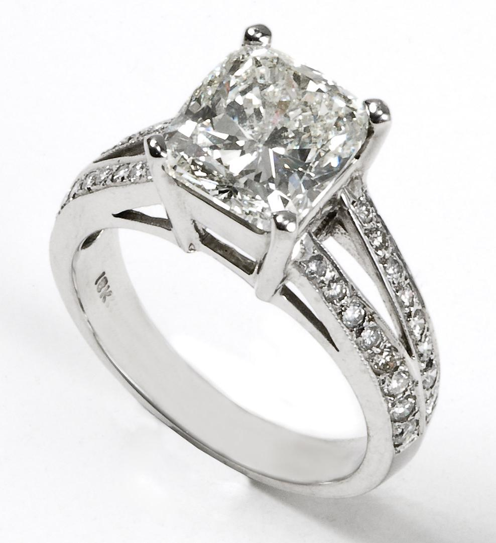 as engagement rings.