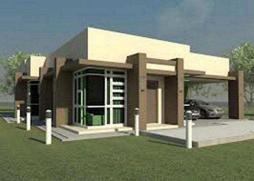 desain rumah 1 lantai terkini