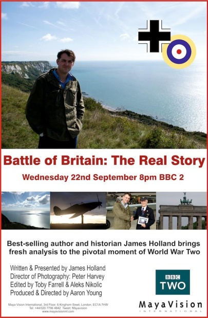 Bitwa o Angliê Historia prawdziwa / Battle of Britain The Real Story (2010) PL.TVRip.XviD / Lektor PL