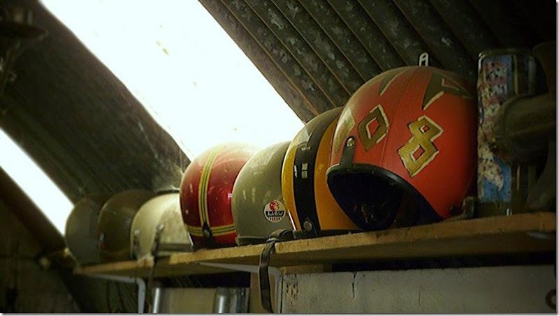 Erik's helmets