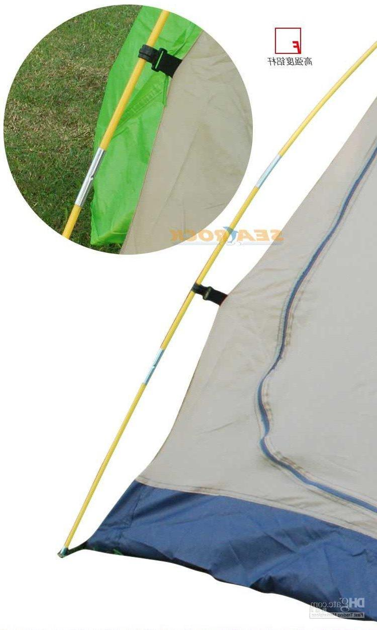 Double resident tent  Aluminum pole  Extending couple tent  .