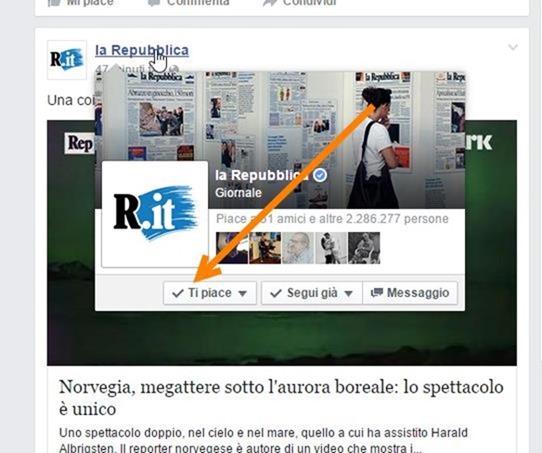 smettere-seguire-pagine-facebook