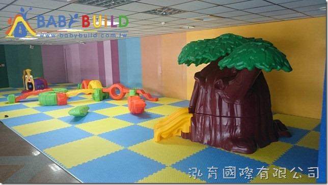 兒童遊戲設備完工照