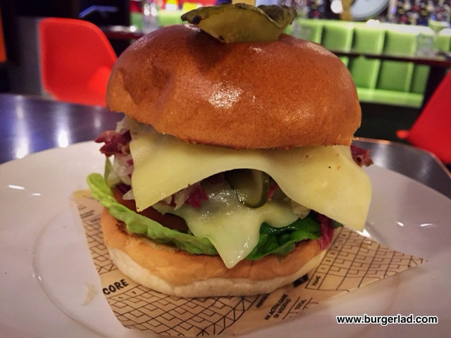 All Star Lanes New Yorker Burger