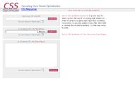 Online CSS Optimizer / Optimiser