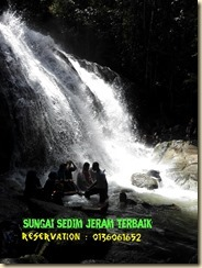 waterfall riau sungai sedim