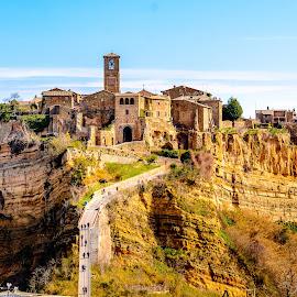 Dying City by Luis Silva - Buildings & Architecture Public & Historical ( bagnoregio, italia, dying, lazio, civita di bagnoregio, italy,  )