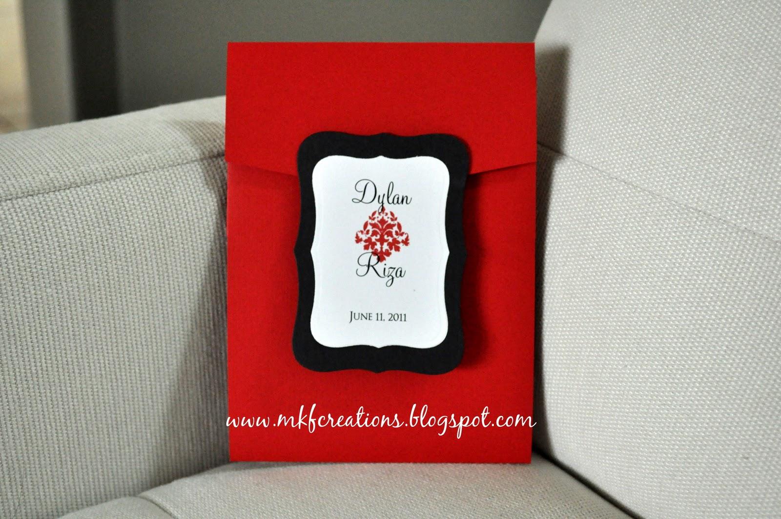 for wedding invitations