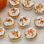 Pumpkin Brown Butter Cupcakes (src)