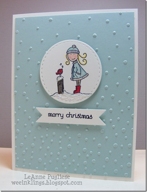 LeAnne Pugliese WeeInklings Paper Players 271 Elzybells Merry Christmas